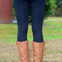 A Girl Favorite Jeggings: Black
