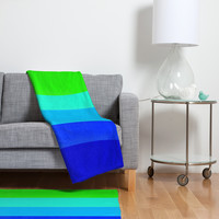 Garima Dhawan Colorplay 1 Fleece Throw Blanket× 1