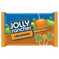 Jolly Rancher Caramel Apple Lollipops 9.1 oz (Pack of 2)