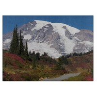 Scenic Mount Rainier Cutting Board