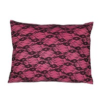 Lace Vinyl Pillow