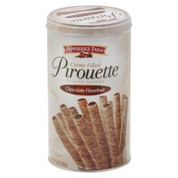 Pepperidge Farm Pirouette Chocolate Hazelnut Rolled Wafers 13.5 oz