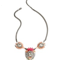 Pink Pastel 3 Pendant Necklace