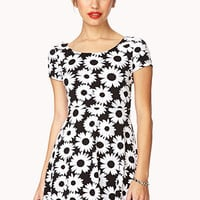 Daisy Doll Skater Dress