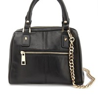 CHAIN STRAP SATCHEL BAG