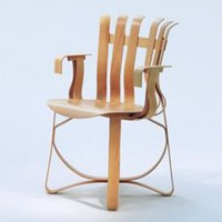 Gehry Hat Trick - Side Chair, Maple