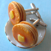 Stack of Pancakes - Food Cufflinks