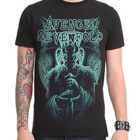 Avenged Sevenfold Blue King Slim-Fit T-Shirt