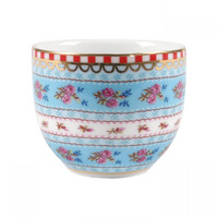 Ribbon Rose Porcelain Egg Cup, Set of 6
