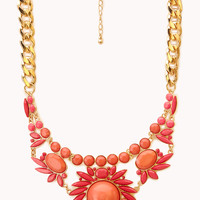 Sunburst Bib Necklace