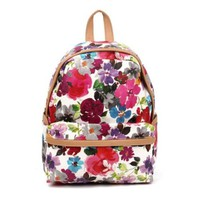 Flora Print Backpack