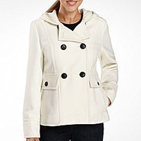 a.n.a® Hooded Pea Coat