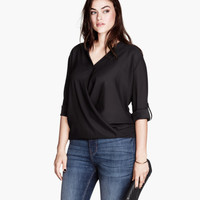 H&M+ Chiffon Blouse - from H&M