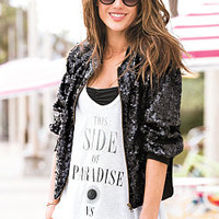 Graphic High-low Tank - Supermodel Essentials - Victoria's Secret