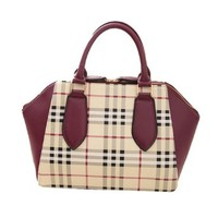 Mixed Colors Classic Plaids Vintage Noble Luxury Shoulder Crossbody Bag Tote