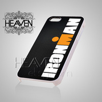 Ironman Triathlon - iPhone 4/4s/5/5s/5c Case - Samsung Galaxy S2/S3/S4 Case - Black or White