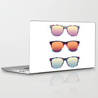 PUT YOUR GLASSES ON ... Laptop & iPad Skin by Nika