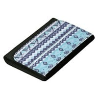 Mix #529 - Blue Aztec Designer Wallet