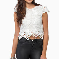 Wilde Heart Fair Fiona Crop Top $44