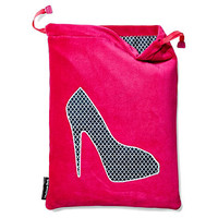 Shoe Bag, Hot Pink