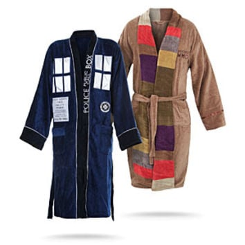 Doctor Who Bathrobes -