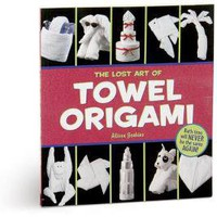 Towel Origami Book | Home Living | SkyMall