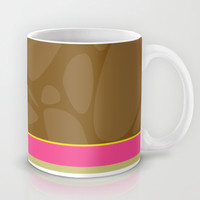 Cute Giraffe Girl Mug by markmurphycreative