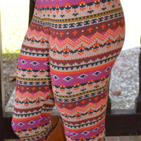 Goodmorning Sunshine Leggings: Multi