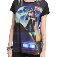 Back To The Future Poster Sublimation Girls Top