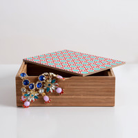 Caroline Okun Petit Diamant Jewelry Box