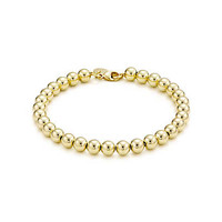 Tiffany & Co. - Tiffany Beads bracelet in 18k gold.