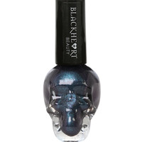 Blackheart Dark Blue Metallic Nail Polish