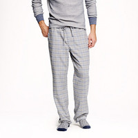CLASSIC FLANNEL PAJAMA PANT IN SEATTLE GREY PLAID