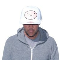 Adventure Time with Finn and Jake Snap-back Flat-bill Baseball Hat Cap Finn