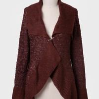 Fort Benton Ruffled Cardigan