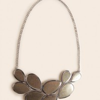 Cadman Plaza Bib Necklace