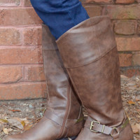 Lively Up Yourself Boots: Chocolate