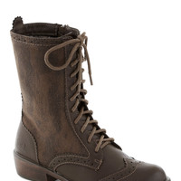 Weatherworn Report Boot in Molasses | Mod Retro Vintage Boots | ModCloth.com