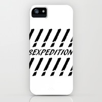 SEXPEDITION iPhone & iPod Case by Richard Casillas
