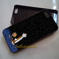 Calvin & Hobbes iPhone 5C Case, iPhone 5S/5 Case, iPhone 4S/4 Case, Samsung Galaxy S3/S4, Premium Case Cover
