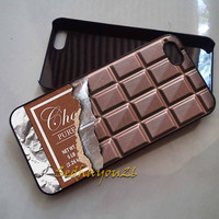 Chocolate Bar iPhone 5C Case, iPhone 5S/5 Case, iPhone 4S/4 Case, Samsung Galaxy S3/S4, Premium Case Cover
