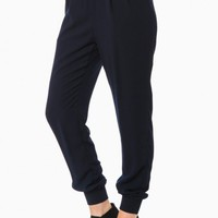 AUBERT PANT IN NAVY