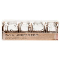 The Mason Jar Shot Glasses (Set of 4)