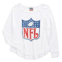 Junk Food 'NFL Logo' Graphic Tee (Big Girls) | Nordstrom