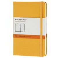 Moleskine Classic Notebook, Pocket, Ruled, Orange Yellow, Hard Cover (3.5 x 5.5) (Classic Notebooks) [Diary]
