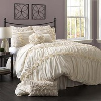 Lush Decor Darla 4-piece Comforter Set