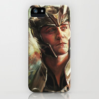 The Prince of Asgard iPhone & iPod Case by Alice X. Zhang