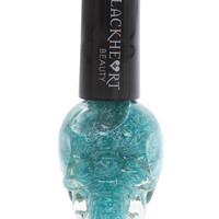 Blackheart Teal Feather Nail Polish