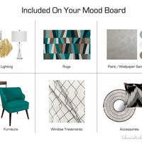 Affordable Mood Boards for Home Decorating