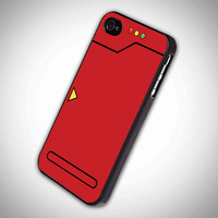 pokedex red design iPhone case, iPhone 4/4S case, iPhone 5, 5S, 5c case, Samsung S3, S4 case